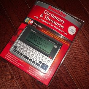 Other - Franklin Dictionary & Thesaurus